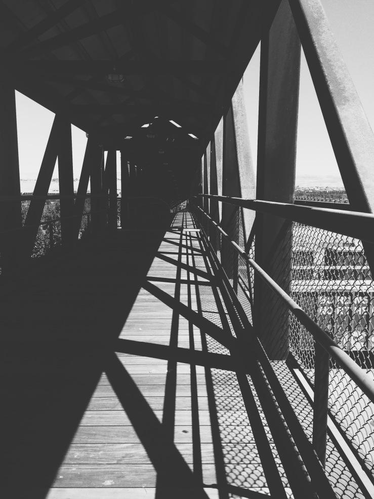 The bridge to River Walk