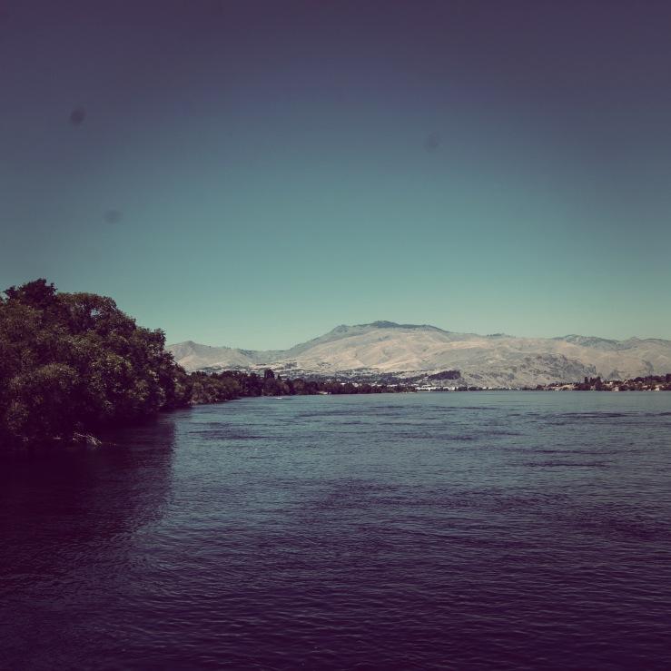 The Columbia River (pardon the schmutz on my lens!)