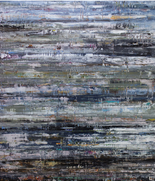 Layers in a Dream by Hilario Guiterrez | Tansey Contemporary. Image via artsy.net